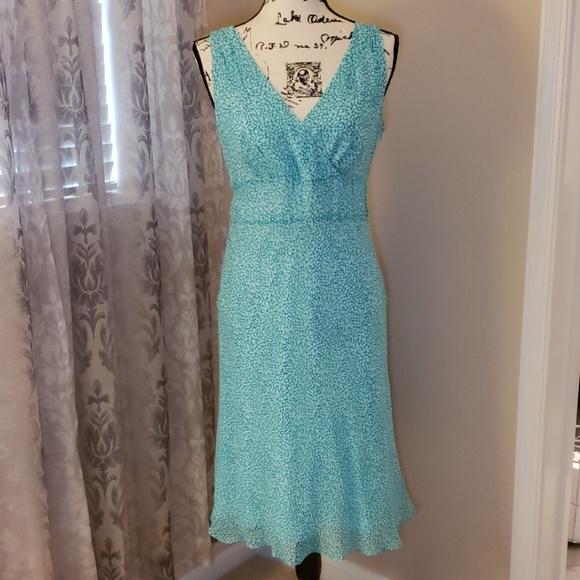 Ann Taylor Dresses & Skirts - Ann Taylor Teal Dress Size 6